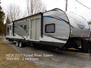 Trailers for sale in a park Kawartha Lakes Peterborough Area image 1