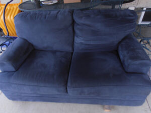 For Sale....Navy Blue love seat