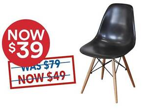 SALE: Replica Eames Dining Chair  -   $39- black only Osborne Park Stirling Area Preview