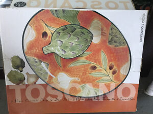 Decorative Serving plate and dish Set