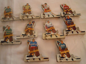 Vintage Table Hockey Players - (10) sets