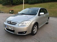 Toyota Corolla Colour Collection vvt-i 1.4 Petrol 5dr Hatchback (2005 Year)**