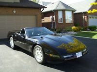 1994 Triple Black Corvette Convertible