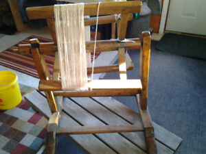 Antique yarn winder from Quebec Eastern Townships