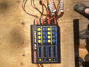 Rc battery charger charges 4 at a time