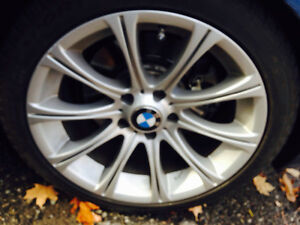 18'' BMW SNOW*** WINTER WHEELS SET*** // 1 season used//