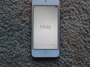 iPod Touch 5th Gen (Red)