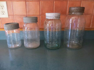 old canning jars $4 each