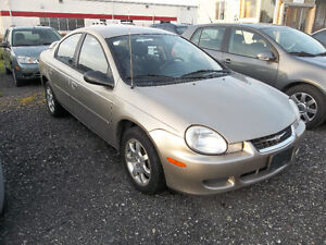 2002 Dodge Neon AUTOMATIC!! ONLY 114,600 KMS!!!!!