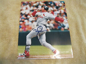 Autographed Signed Mark McGwire 8 X 10 Photograph