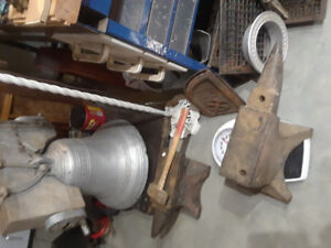 Enclume de forgeron, Pince, marteau, masse, outils de forge, feu