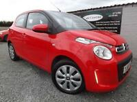 2015 65 CITROEN C1 1.0 FEEL 5D 68 BHP PETROL RED
