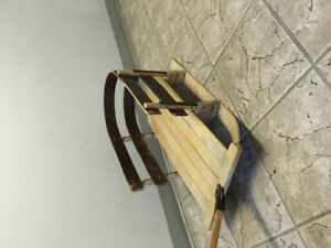 Vintage baby/toddler sled