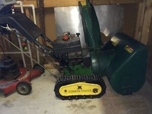 John deer snowblower