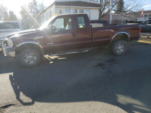 2006 ford f350 xl  4x4 super duty diesel