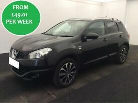 £212.39 PER MONTH NISSAN QASHQAI 1.5 DCI 110 N-TEC+ Hatchback Manual
