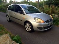 56 Plate Ford Fiesta 1.4 Style (Climate) - 1 Private Lady Owner with New MOT & Fresh Service