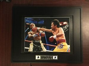Manny pacquiao autographed picture