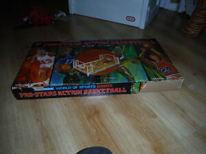 Coleco pro star action basketball game