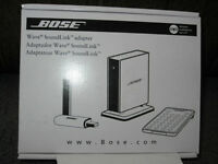 BOSE Wave Link Adapter ** NEW** Reduced price $60.