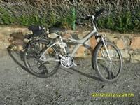 Btwin seven hybrid mountain bike