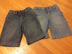 2 Boy Jeans Shorts From Old Navy