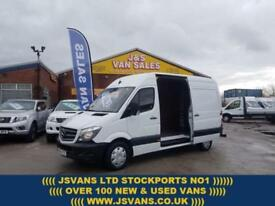 2015 65 MERCEDES-BENZ SPRINTER 2.1 313 CDI MWB 136 BHP + COMMS PACK UNDER BENZS