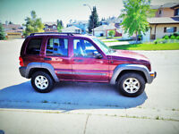 2003 Jeep Liberty Sport with Remote Car Starter & Extra Tires