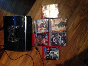 120 gig PS3 with 6 games and 1 controller
