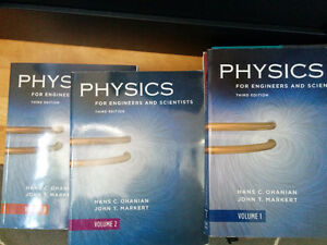 Physics for engineers and scientists (vol 1 2 3) - all 3 books