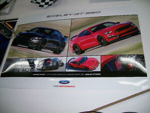 Poster / affiche Mustang Shelby GT-350R 2016 West Island Greater Montréal image 2