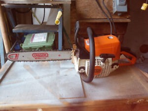 stihl ms250 2 hours on the topend