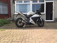 YAMAHA YZF-R125, R125 Learner legal, Long MOT, LOW MILEAGE, EXTRAS