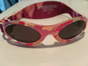 Pink Baby Banz sunglasses 0-2 years
