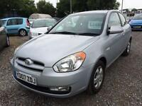 2007 HYUNDAI ACCENT 1.4 Atlantic LOW INSURANCE 12 MTS WARRANTY AVAIL