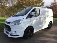 2014 14 FORD TRANSIT CUSTOM 2.2 330 LIMITED LR 125 BHP RS STYLING PACK AIR CON