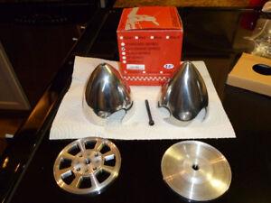 2   3.5 inch Aluminium Spinners-Corsair Prop