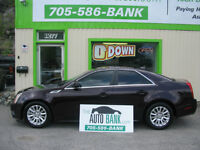 2010 CADILLAC CTS 4 ***AWD*** BLACK CHERRY