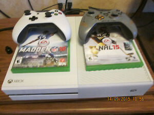 White xbox one 300$ or trade for PS4 with battlefront.