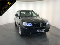 2013 63 BMW X3 XDRIVE20D SE DIESEL 1 OWNER FINANCE PX WELCOME