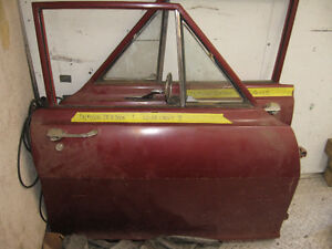 Western 62-65 Chevy II front doors for 4 door sedan, sell trade
