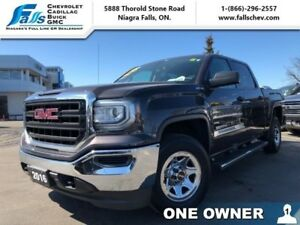 "2016 GMC Sierra 1500 SLE  CREW,4X4,5.3L,REARCAM,6""CHROMED ASSIST"