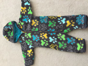 Fleece One-Piece (size 6-9 mos by Me Too)