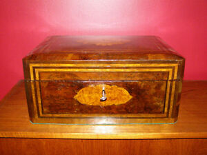 Collection of Antique Boxes - Tea Caddies Lapdesks Knife Boxes London Ontario image 6