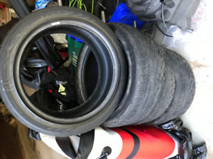 Tires used Good Year Eagle GT 235/45 R18