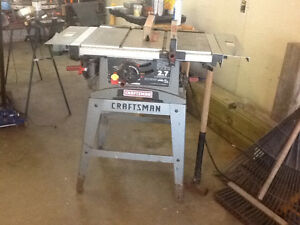 "Craftsmen 10"" table saw"