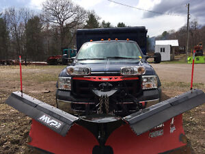 2006 Ford 550  Dump/Plow Truck 4WD