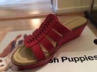 Ladies hush puppies sandals size 6