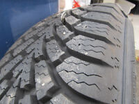 Almost Brand New Goodyear Nordic Snow Tires 195/65/15