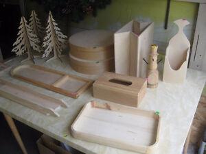 Folk Art Wood Items